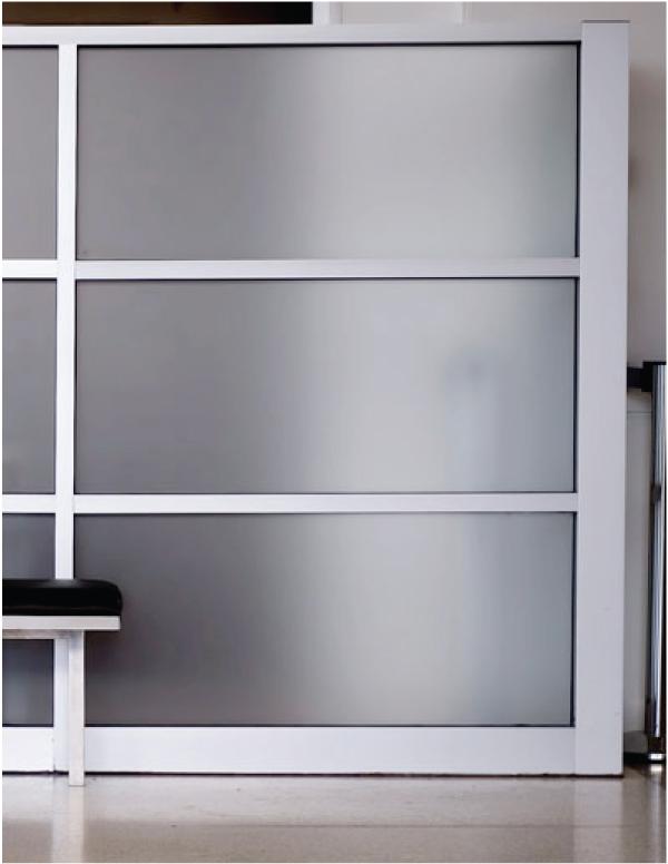 Raamfolie anti inkijk privacy folie kantoor blinderen - Deco buitenkant idee ...