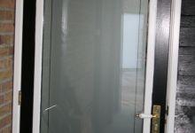 Raamfolie, schuurdeur, deur