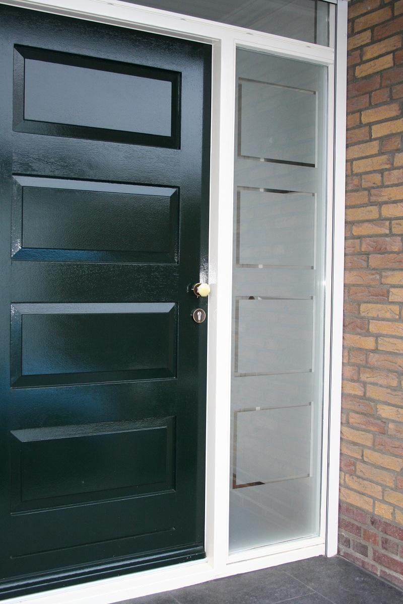 raamfolie voordeur zelf ontwerpen en aanbrengen