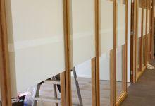 glasfolie, kantoor, bies, tegen inkijk, raamfolie