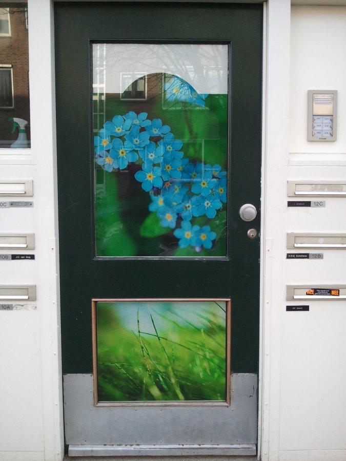 raamfolie, voordeur, full Colour