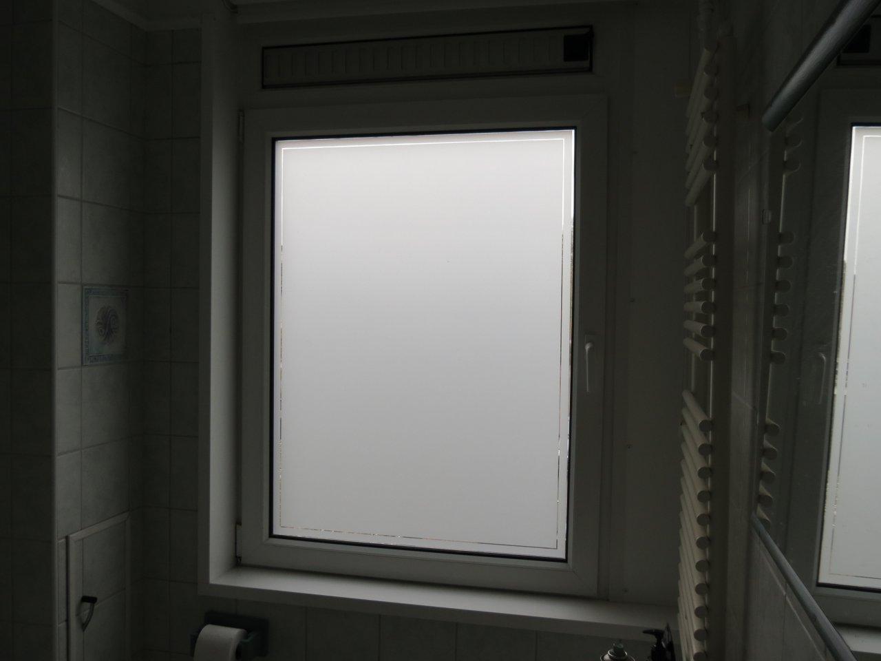 raamfolie badkamer
