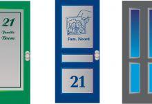 voorbeeld, raamfolie, full colour, voordeur
