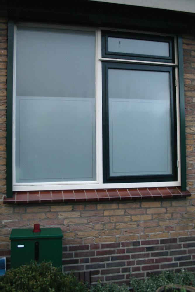 Raamfolie badkamer - WindowDeco