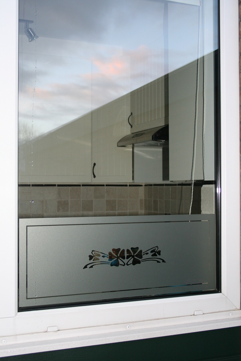 Raamfolie op maat naar eigen idee online ontwerpen - Voorbeeld deco badkamer ...