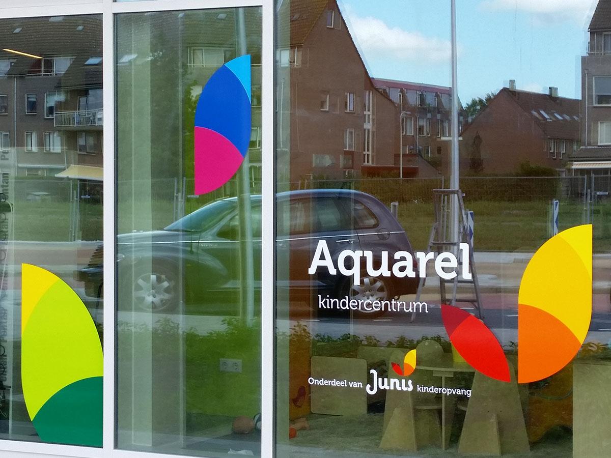 Gesneden gekleurd vinyl (5) huisstijl, logo, gesneden tekst