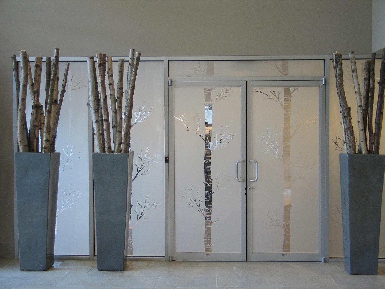 glasfolie, raamfolie, kantoor, glazenwand