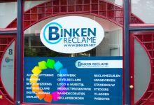 statische raamfolie, kleur, logo, bedrijven