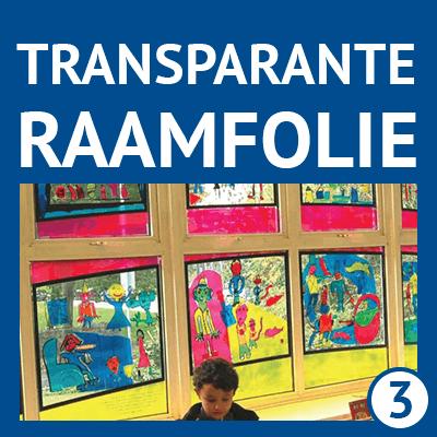 transparante raamfolie