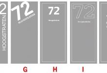 ontwerp, raamfolie, naam, huisnummer