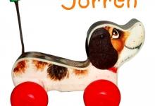 raamsticker, geboorte, verjaardag, hond