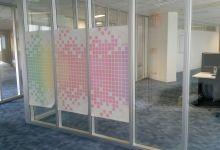 Transparante raamfolie zelf ontwerpen naar eigen idee - Deco ontwerp idee ...