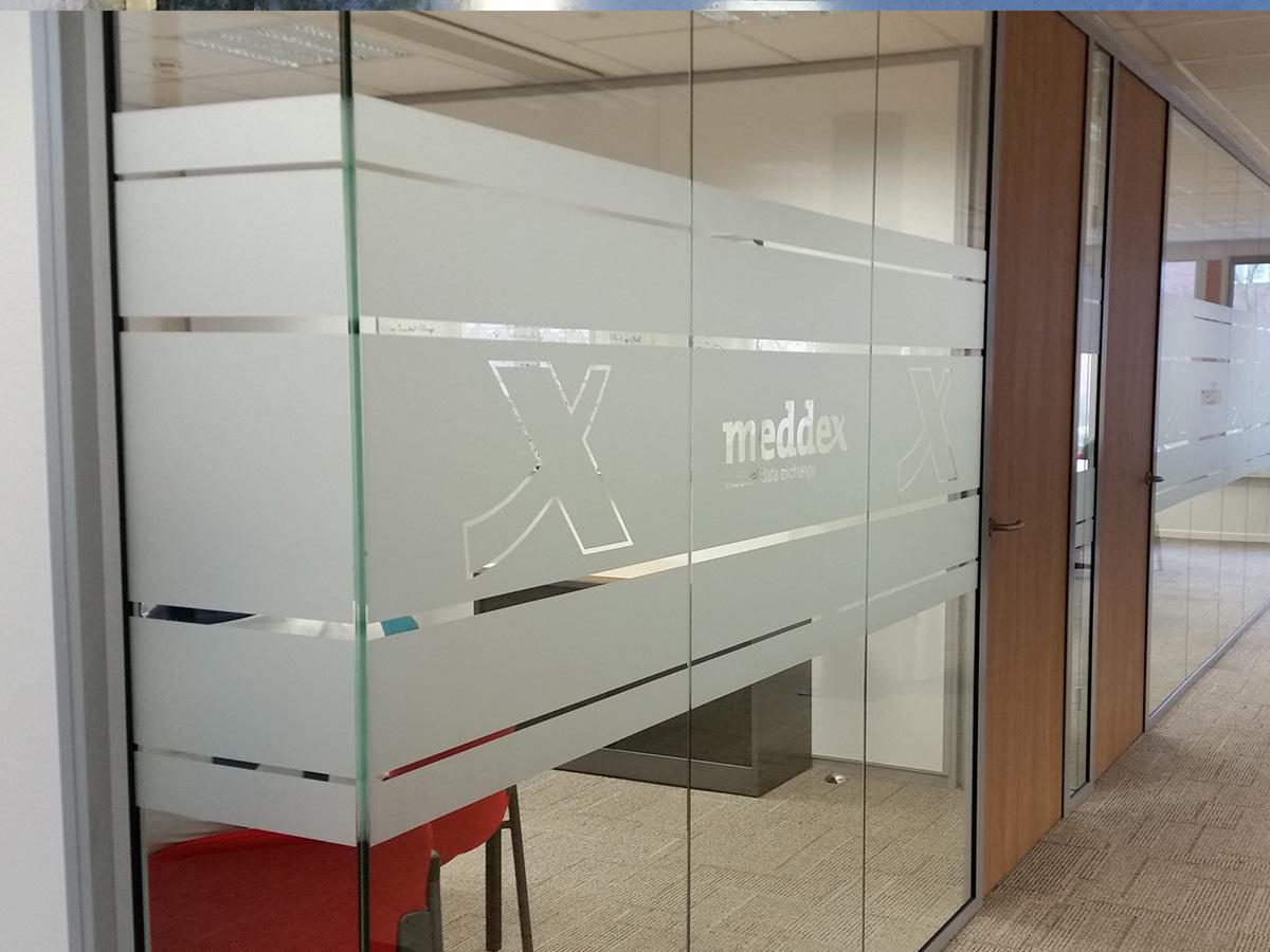 Glasfolie gesneden (1) privacy, logo, kantoor, op maat
