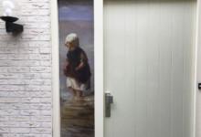 Raamfolie, voordeur, anti inkijk, inkijk tegengaan